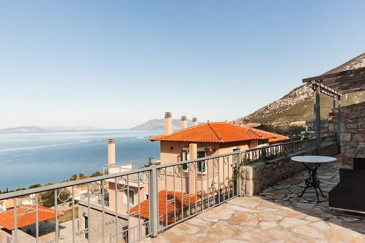 Deluxe Apartment| Epidavros |Panoramic View[65 m²]