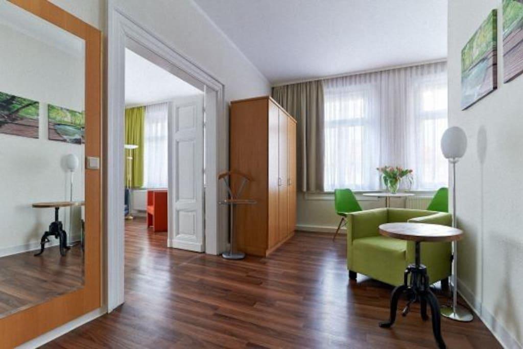 am goethehaus bequem wohnen appartements en r sidence. Black Bedroom Furniture Sets. Home Design Ideas
