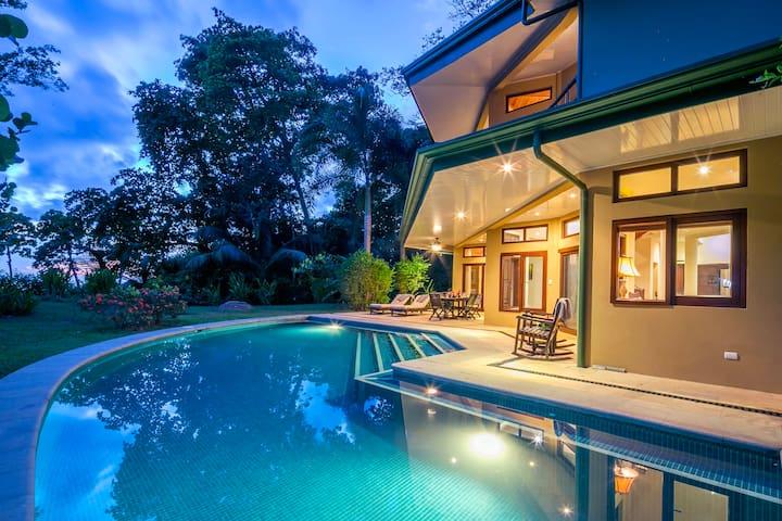 Villa Norte; Where the Jungle Meets the Ocean