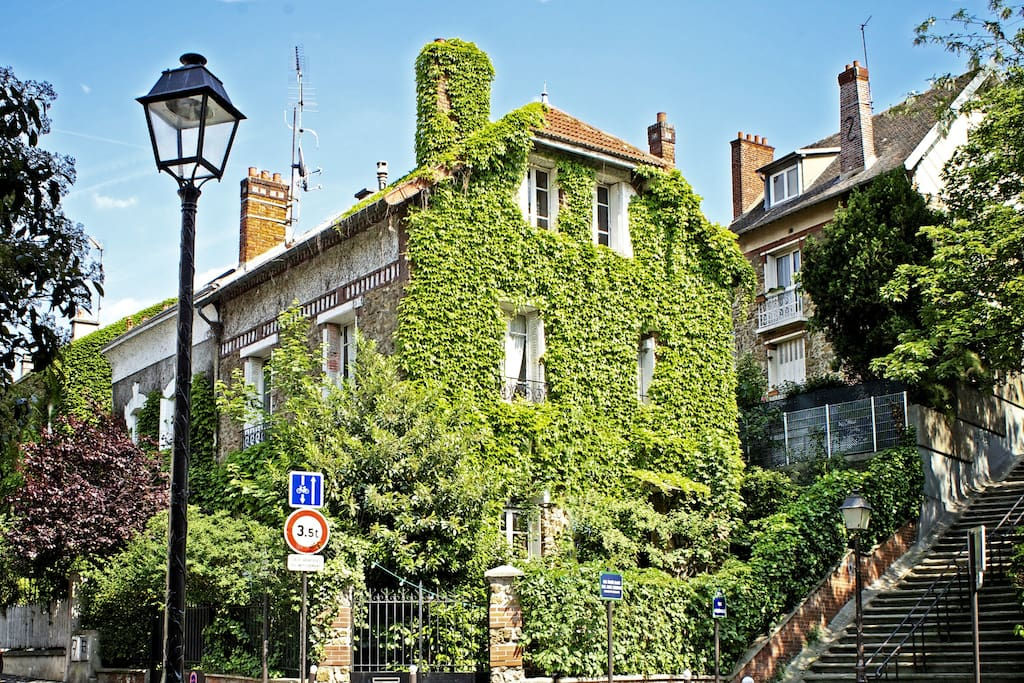 lovely house with garden room n 1 houses for rent in paris le de france france. Black Bedroom Furniture Sets. Home Design Ideas