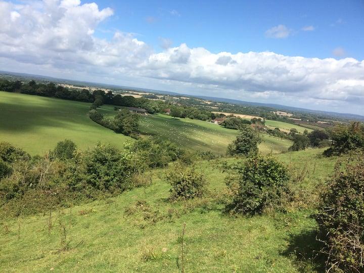 Mill Laine Farm Shepherds Huts - Blue Hut