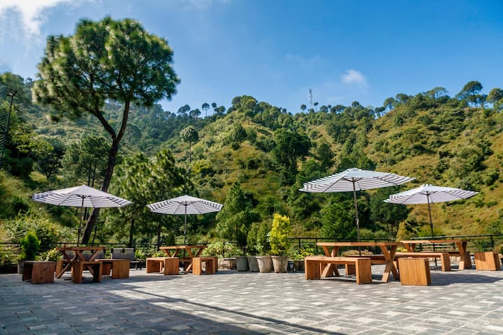 2 Bedroom Private Home with Hill View in Kasauli