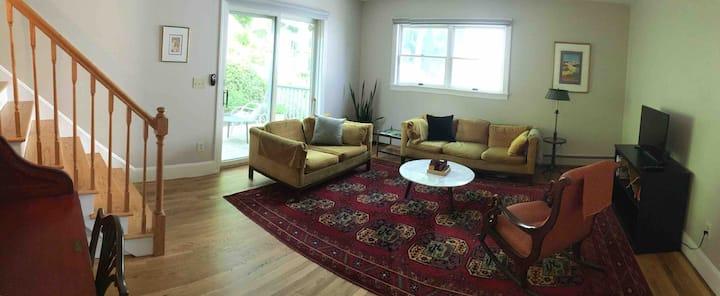 Hastings-on-Hudson Garden Terrace Apartment