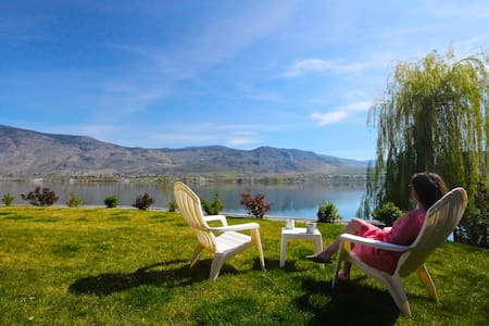 Lakefront Home Private Beach & Dock - Osoyoos - Ház