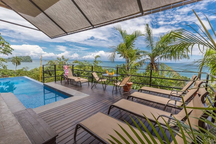 Ocean view Apart/private pool just for your group!