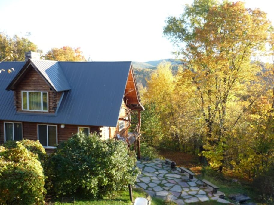Hickory Ridge Vermont Log Cabin Houses For Rent In