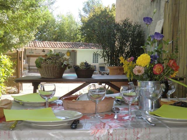 ... dans les collines de Provence