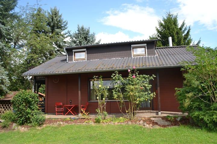 Uriges Ferienhaus am Rande des Vogelsberg