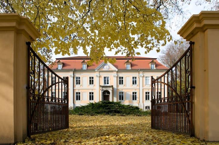 Schloss Stülpe - Blaues Zimmer - Nuthe-Urstromtal - Apartment