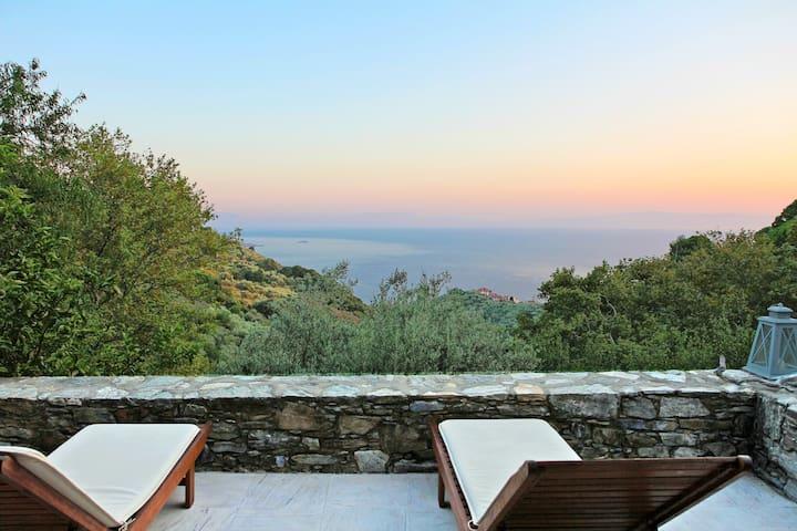 Lavender House, close to Glossa Village - Glossa / Skopelos Island - House
