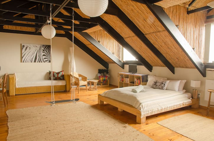 Spacious Loft with a Magnificent View