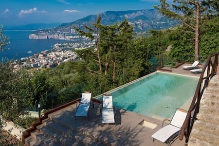 Villa with amazing infinity pool  - Sorrento