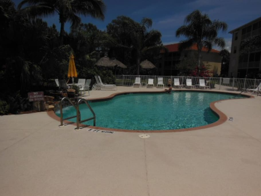 Apartments In Naples Florida With Screened Lanai And  Bed