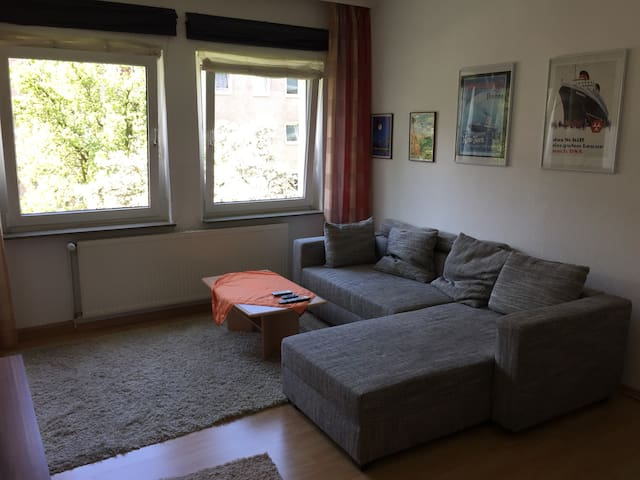 Maritime helle 2 Zimmer Wohnung - Hannover - Daire