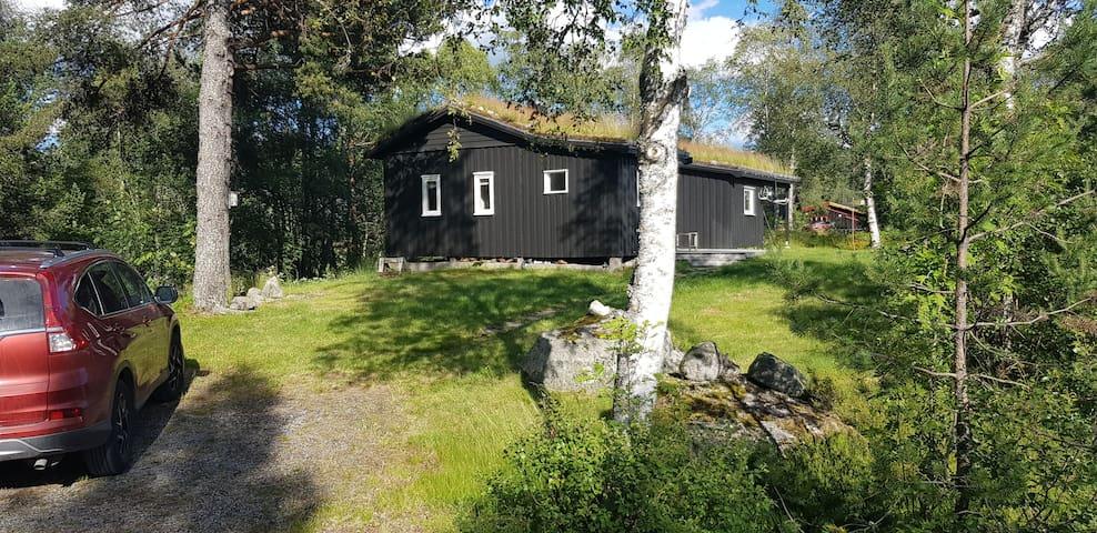 Hyggelig hytte sentralt ved Brokke alpinsenter