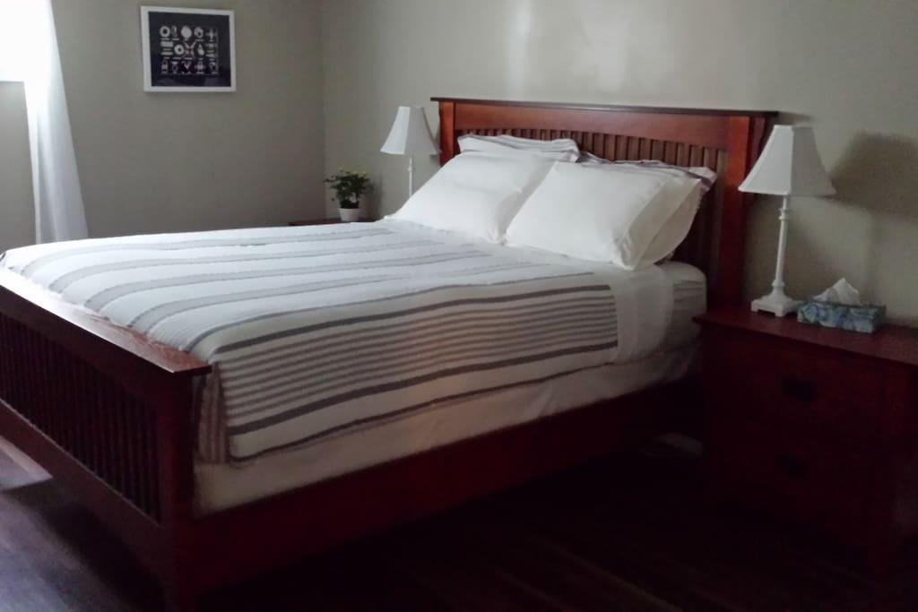 Queen Beds in Master Bedroom