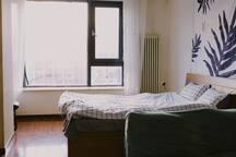 【特惠】近鸟巢 水立方 近立水桥地铁 品质60平大开间 大窗