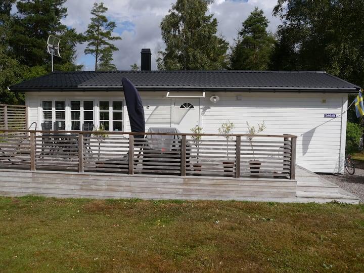 Cosy cabin at Gullmarsfjorden