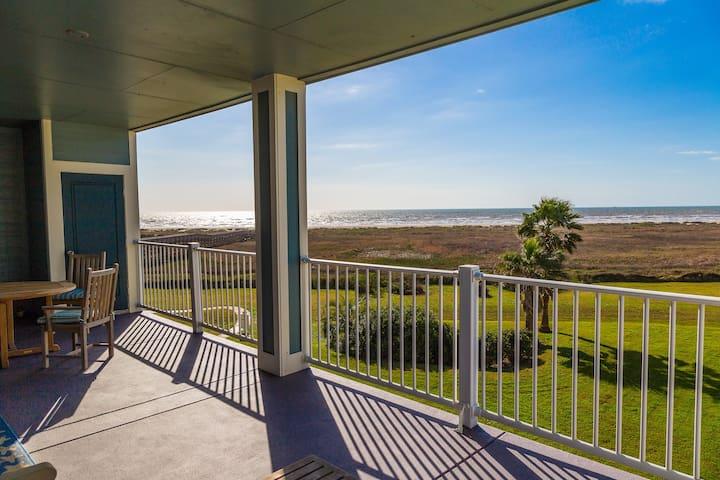 Beachfront Bliss On Galveston Island - Galveston - Appartement