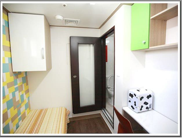 Hong-dae & Sinchon Private Shower room(f04)