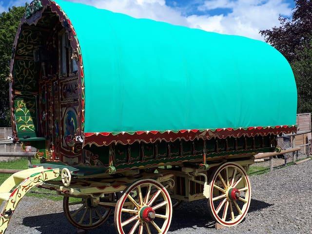 Lady Locke Bowtop Gypsy caravan