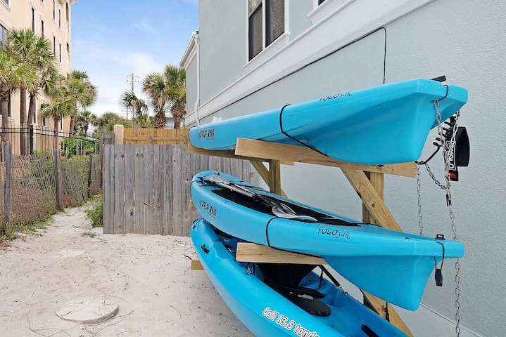 Two Paddle Boards and a Two Person Kayak Included!
