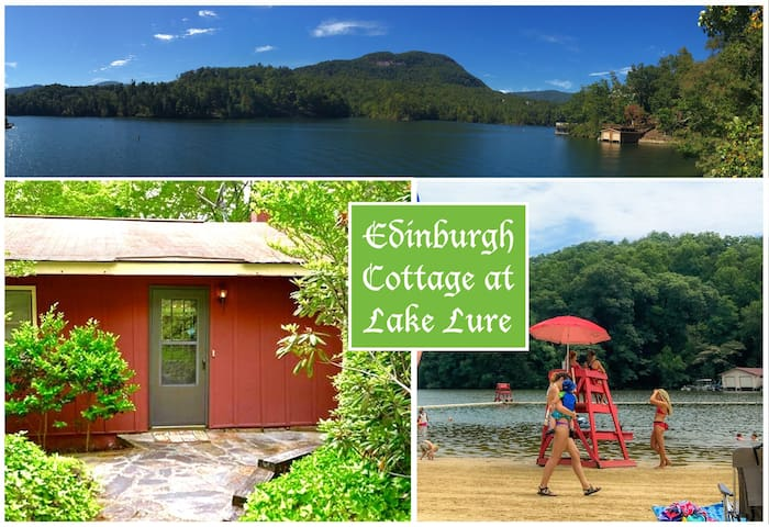 "Family-friendly Edinburgh Cottage at ""Loch Lure"" - Lake Lure - Rumah"