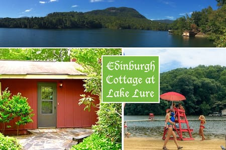 "Family-friendly Edinburgh Cottage at ""Loch Lure"" - Lake Lure - Ev"
