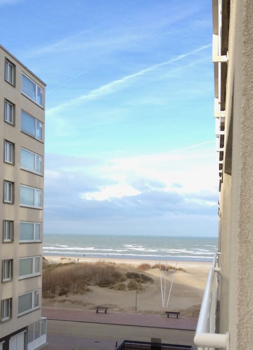 Petit appartement en bord de mer appartements louer for Piscine koksijde
