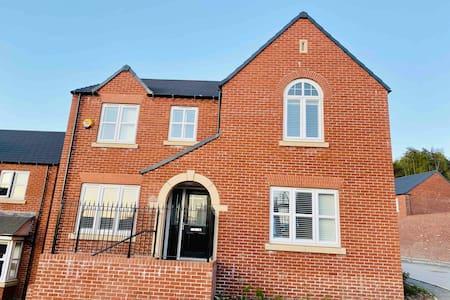 Beautiful Stylish New Build Property in Matlock