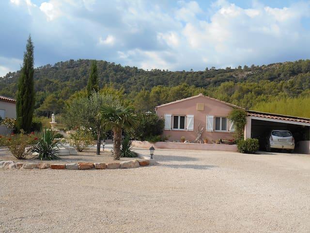 Villa COUP DE COEUR en Provence Verte - Brignoles