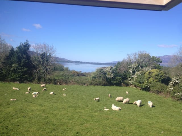 Lodge with stunning view, Knockmore near Ballina