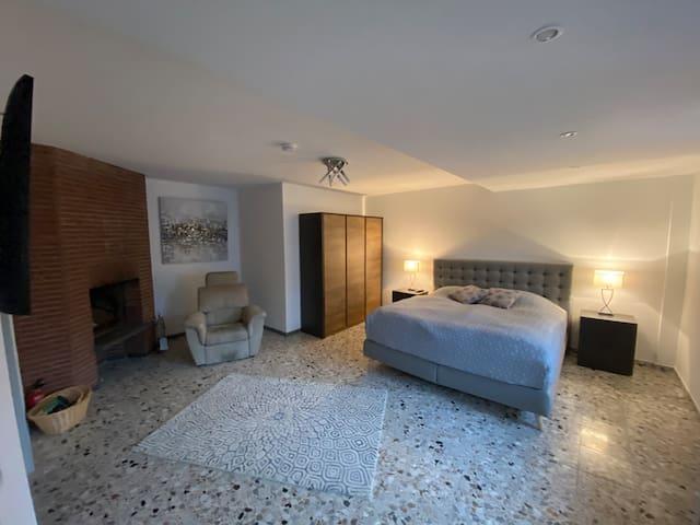 Appartement mit Kamin für max. 4 Personen