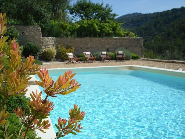 Le lavandin - Saumane-de-Vaucluse - Huis
