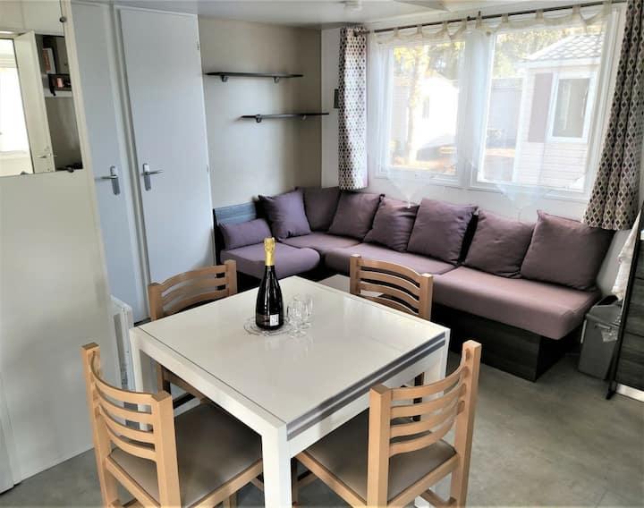 Mobil Home 3 ch.  - Bois Masson / St Jean de Mont