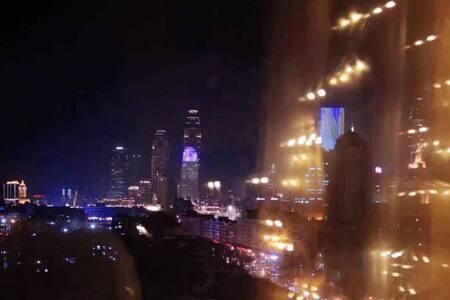 【夜空的星】天津站/落地窗夜景/景区中心/意式风情街/津湾广场/古文化街