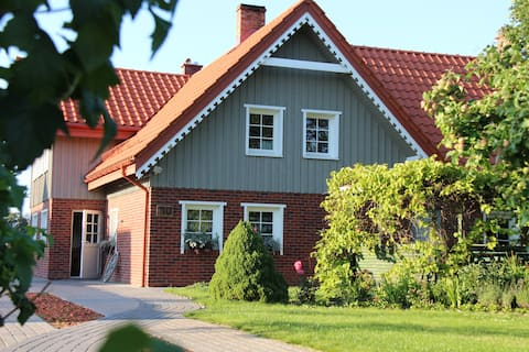 Guest house in Rusne Island