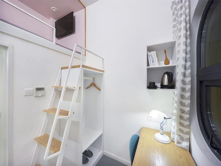郑州微途社群酒店(郑州高铁东站店)loft房型