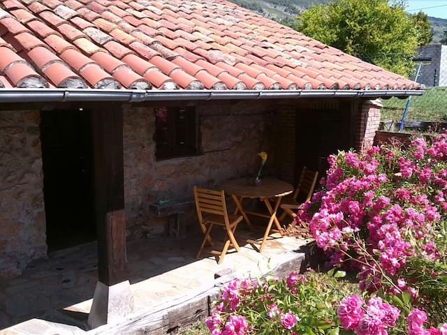 Cabaña de piedra con porche  - Pámanes, Liérganes - Kabin