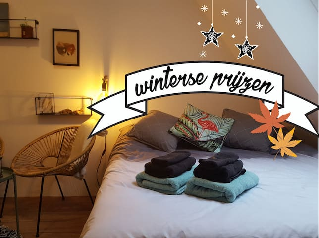 Cozy Pinterest room on THE best spot in de Koog!