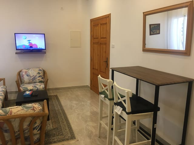 Fully furnished new studio.