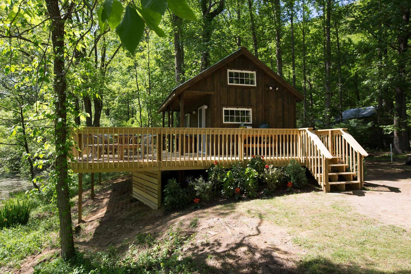 River cabin from tiny house nation in erwin for River cabin plans