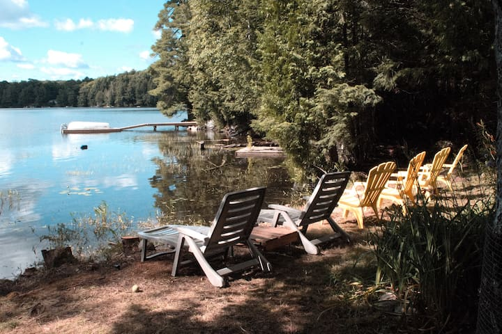 Cozy Cottage on the Lake - Harcourt - Stuga
