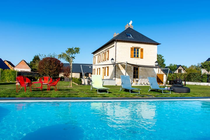 Charming country home 10 min from Giverny - 11 p