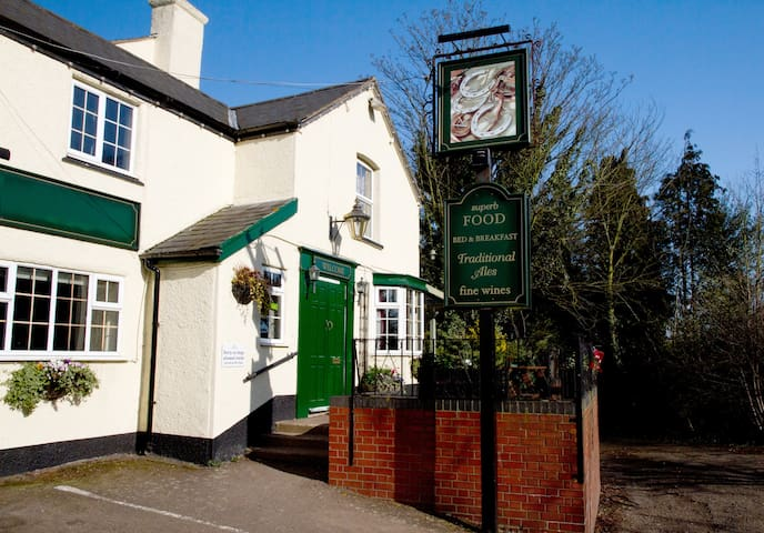Three Horseshoes country pub Room 4 - not en-suite - Princethorpe - Aamiaismajoitus