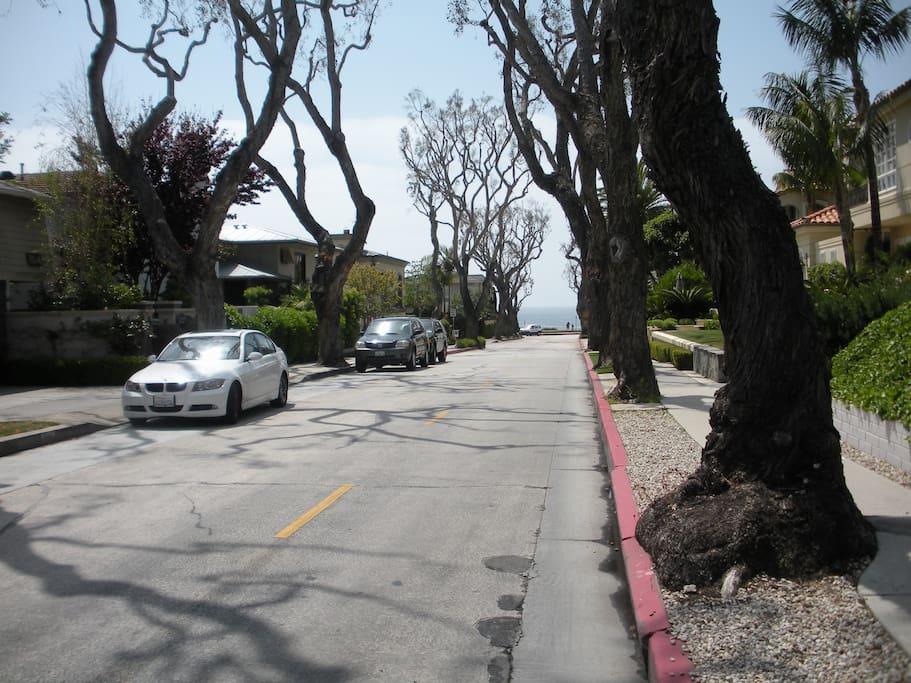Your street.