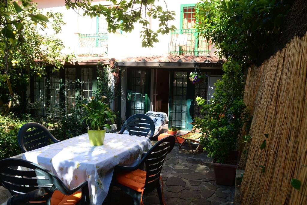 Zona pranzo in giardino, dining outside