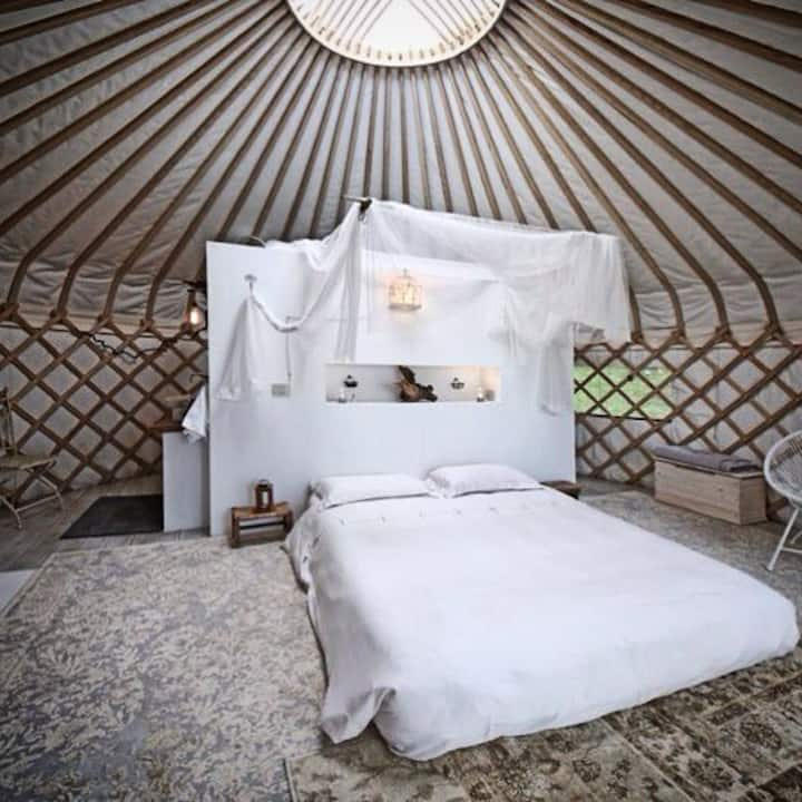 Glamorous Yurt in the Olive Grove