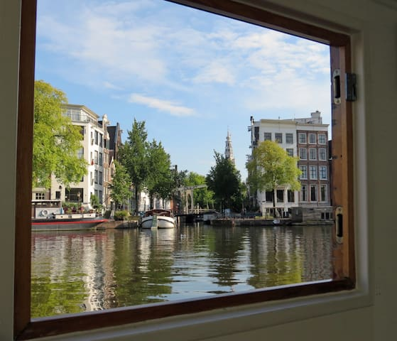 Unique Amsterdam Houseboat - Amsterdam - Vaixell