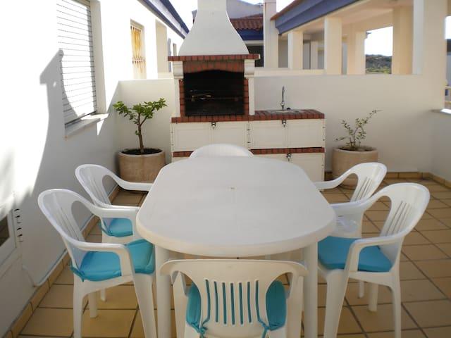 T2 Casa Luna com Churrasqueira AL - vila nova de milfontes - Apartamento